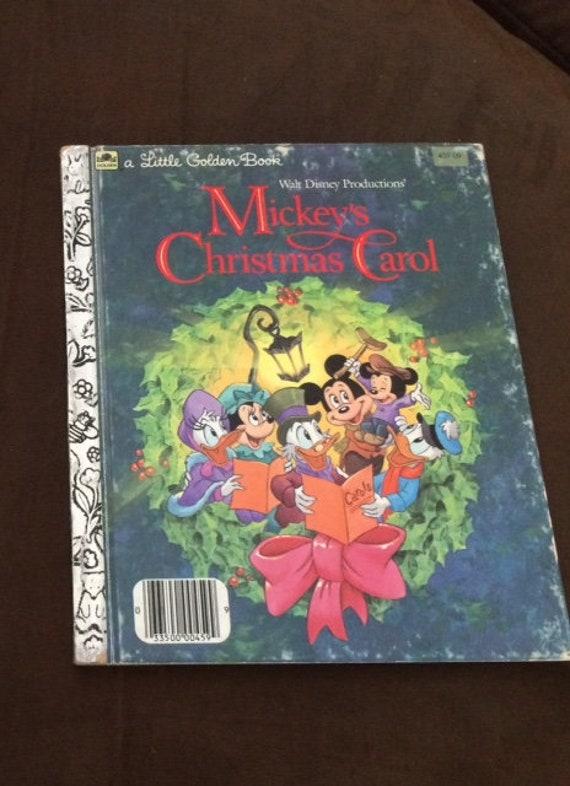 Mickeys Christmas Carol Book.Mickey S Christmas Carol Little Golden Book
