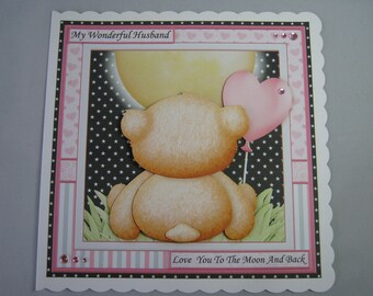 Husband Birthday Card * Husband Anniversary Card * Husband Valentine Card * Husband I love you