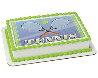 Tennis Racket Cookie Etsy