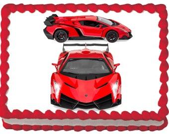 Sport Car Cake Etsy