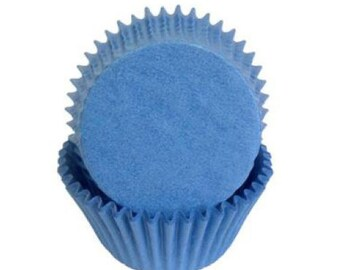 Cupcake Baking Cup Solid Light Blue
