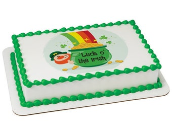 Luck O' the Irish Edible Cake Topper