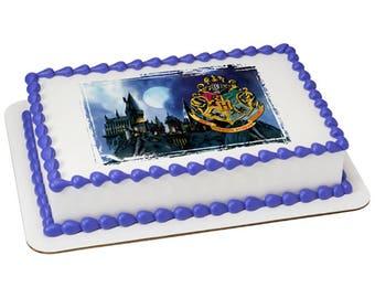 Harry Potter Hogwarts Edible Cake Topper
