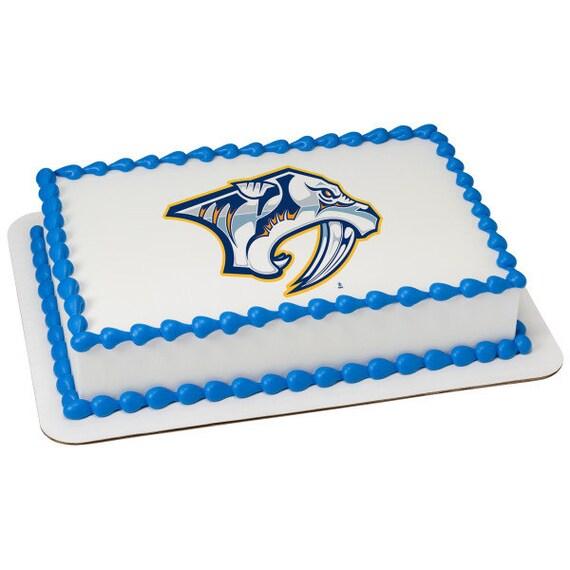 NHL Nashville Predators Edible Cake Topper