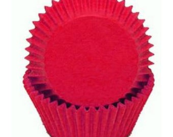 Cupcake Baking Cup Solid Red