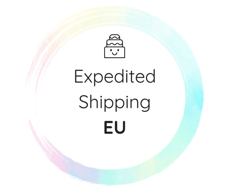 Expedited shipping upgrade  EU   2 business days delivery image 0