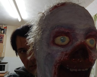 Horror Lifesize Zombie Bust