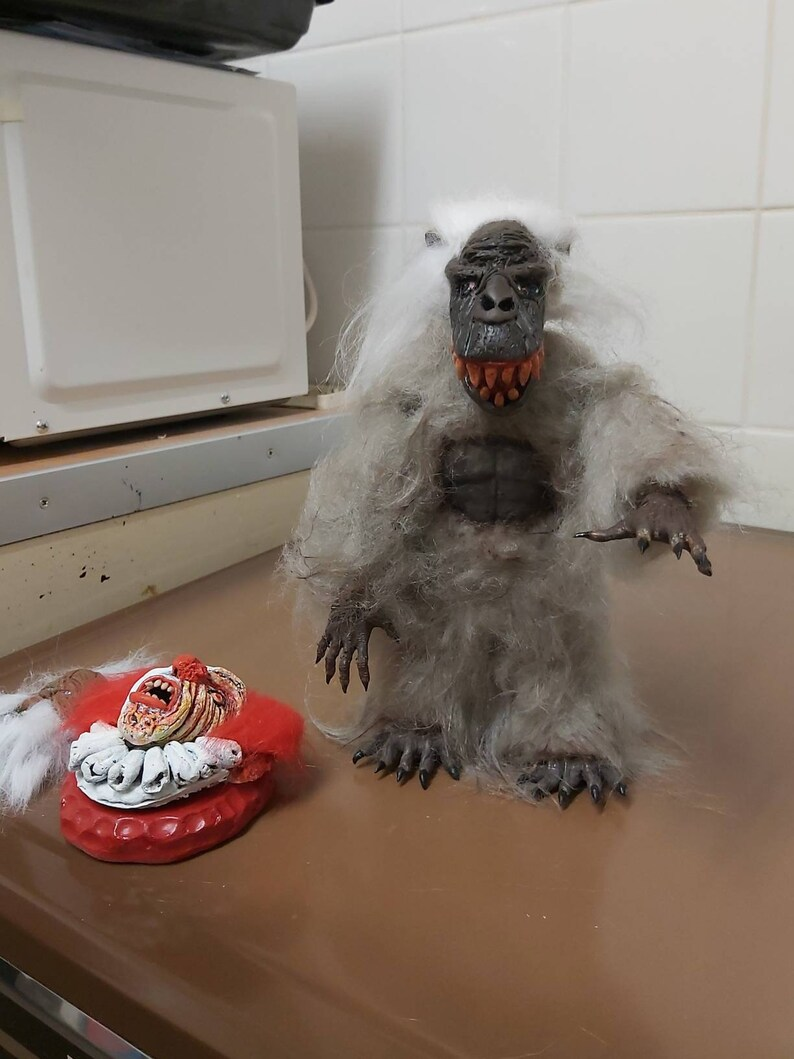 SALE..Horror Creepshow The Crate Fluffy Figure