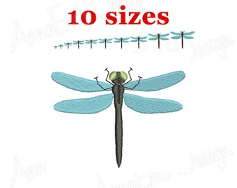 934ba4a535 Dragonfly Embroidery Design. Mini Dragonfly Design. Dragonfly Silhouette.  Machine embroidery design. Machine Embroidery Design.