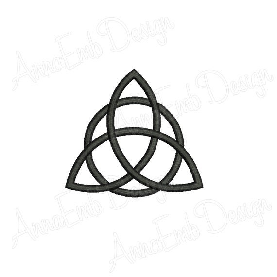 Triquetra Embroidery Design Machine Embroidery Design Etsy