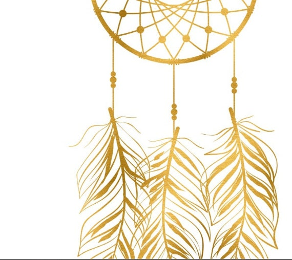 photograph relating to Dream Catcher Printable named Gold Dreamcatcher printable, aspiration catcher print, gold wall artwork, gold boho decor, gold feathers, nursery tribal wall artwork, indian poster