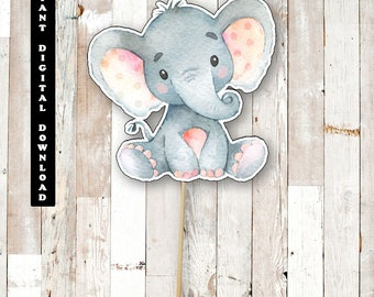 Elephant Baby Shower Etsy