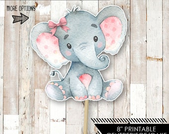 photograph relating to Printable Elephant Baby Shower identify Printable elephant Etsy