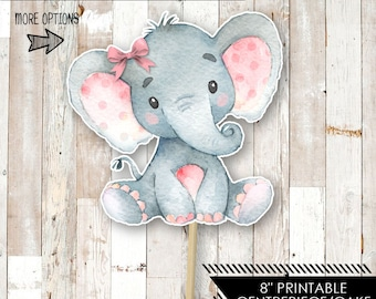 graphic relating to Printable Elephant titled Printable elephant Etsy