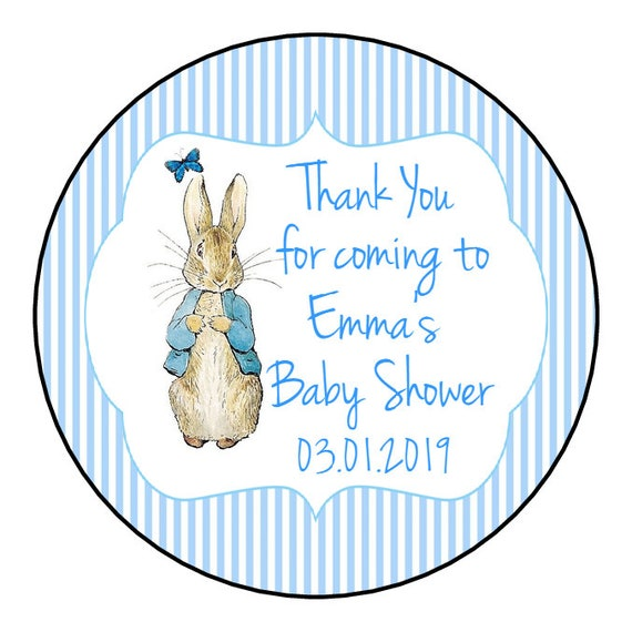 Puddle Duck Straw Toppers Baby Shower,Birthday Parties 25   Peter Rabbit