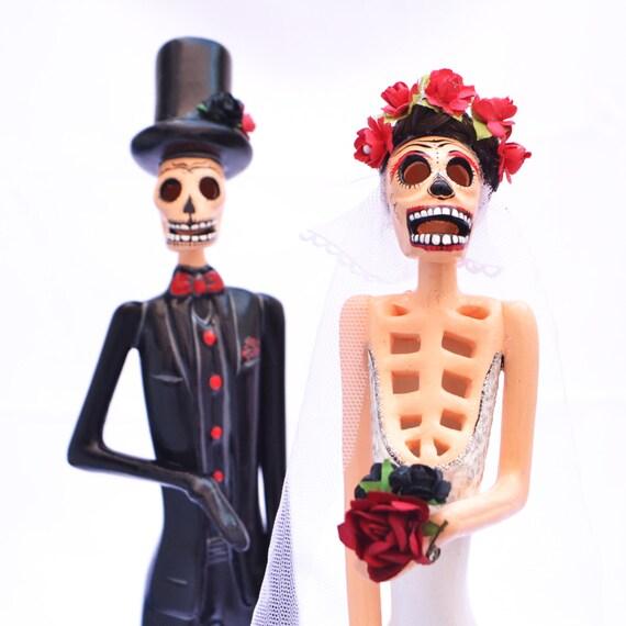 Catrina Y Catrín Mexicanos Escultura Mexicana Folclore Etsy