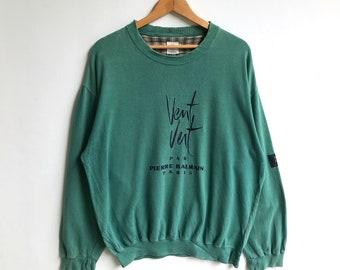 96d886af21 Pierre balmain vent vent paris big spell out logo sweatshirt
