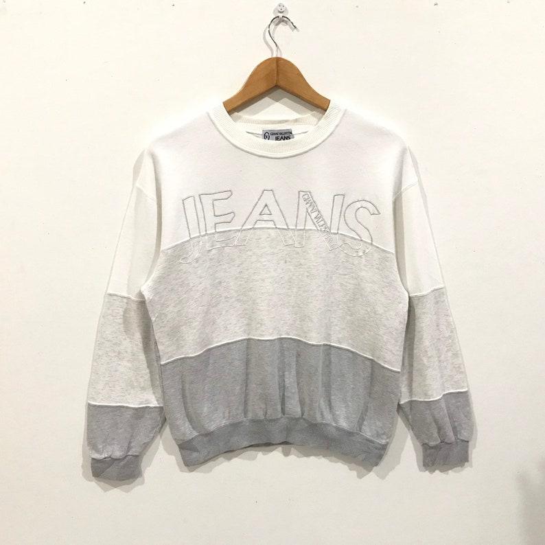 Rare !!! vintage Gianni valentino jeans italy sweatshirt