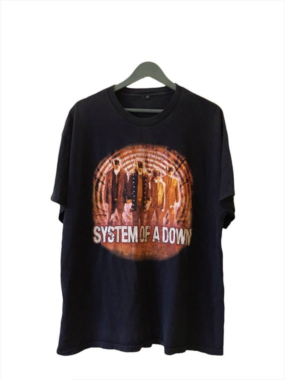 Vintage Distressed System of a Down North America… - image 1