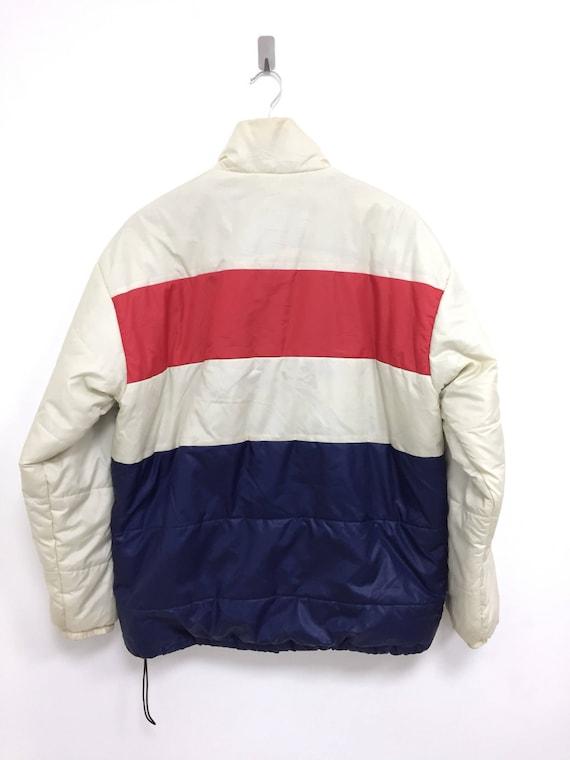 large Down Multi colour Jacket Rare Vintage size Design Canterbury 4qxO75w8