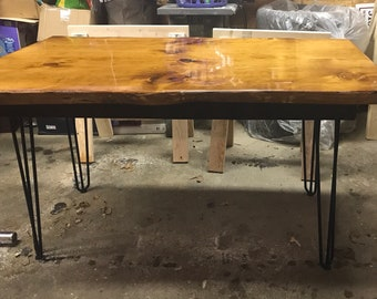 Pine dining table   Etsy