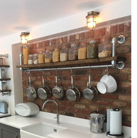 Industrial Kitchen Shelving: Kitchen Shelving Industrial Shelving Shelf Shelving