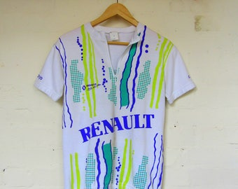 Awsome men's Vintage Renault cycle top - size S/M