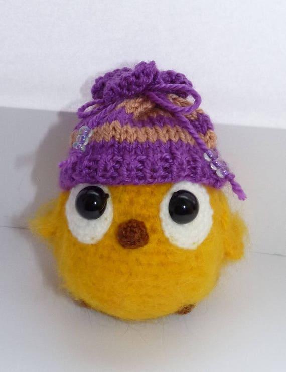 Amigurumi Huhn Ostern Miniatur Küken Nettes Spielzeug Etsy