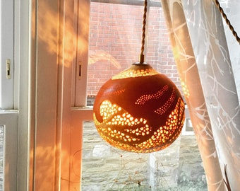Bohemian lamp shade etsy pendant lamp gourd light hanging lamp pendant light bohemian home decor diy lamps moroccan home decor gourd lamp gift idea keyboard keysfo Image collections