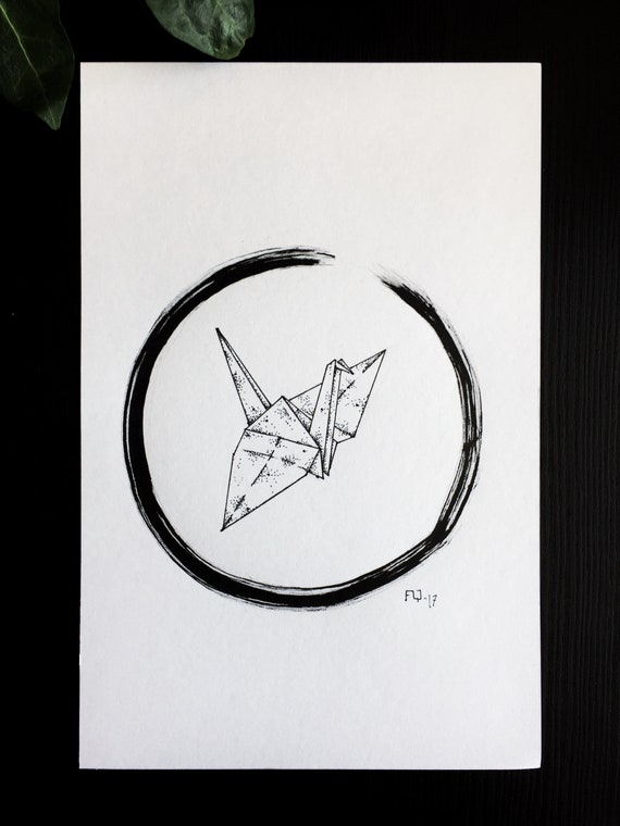 Time-lapse of Drawing Origami Crane : Stockvideos & Filmmaterial ... | 760x570