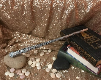 The Ice Wand, Wand for LARP or fantasy-Geek collections- comicon- blizzcon -Geek accessories - witch wand- costume, renfair