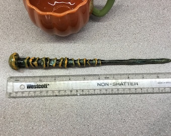 Earthshaper, Annihilation of Redemption, Wand for LARP or fantasy-Geek collections- comicon- blizzcon -Geek accessories - witch wand,costume