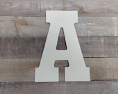 Wooden 13 Inch Letters
