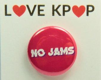 BTS No Jams badge pin BTS Accessory ARMY Cute Kawaii Pin Badge Brooch Rapmonster Suga Jungkook V Taehyung Jimin Yoongi