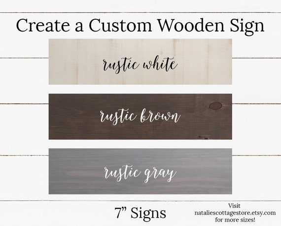 Custom signs custom sign wall art wood sign farmhouse | Etsy