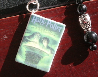 Harry Potter and the Half Blood Prince by J. K. Rowling Miniature Book Charm Bookmark