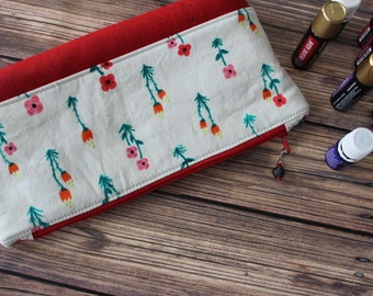 Essential Oil Bag, Essential Oil pouch, Cosmetic Bag, Essential Oil