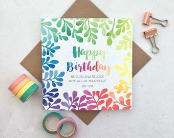 Bible verse cards etsy birthday card christian cards bible verse cards happy birthday card christian gifts m4hsunfo