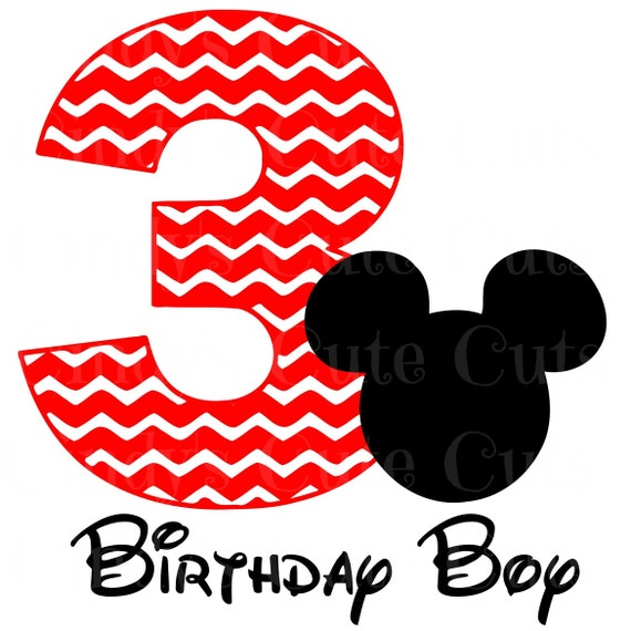 It's just a picture of Astounding Mickey Mouse 3rd Birthday