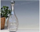 Wine decanter in Baccarat crystal, Fontenay model Art Deco