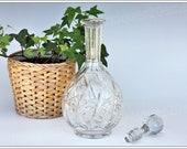 Wine decanter in Baccarat crystal model Harfleur