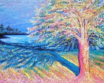 Fireside Bay - Original Oil Painting by Amanda Wathen