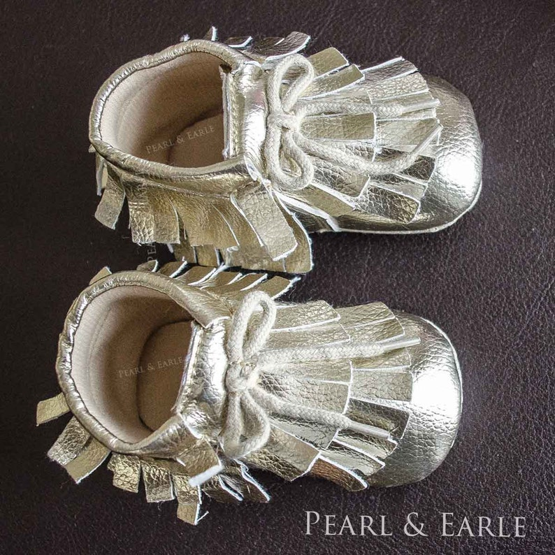 d6868a0c4913b Gold Baby Shoes, Baby Shoe, Toddler Shoe, Gold Baby Moccasins, Holiday  Baby, Toddler Moccasins, Gold Moccasin, Baby Leather Moccasins
