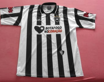 0b7bcb3185e RARE Vintage Botafogo Soccer Club Finta Jersey  10