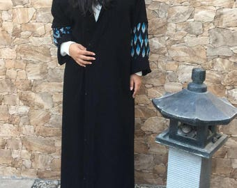 Hooded Abaya Cloak Cape