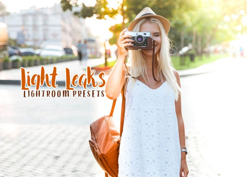 60 Light Leaks Lightroom Presets INSTANT DOWNLOAD for  Wedding,Portrait,Nature,Fashion,Art,Holiday (Presets for Lightroom 4,5,6,CC)