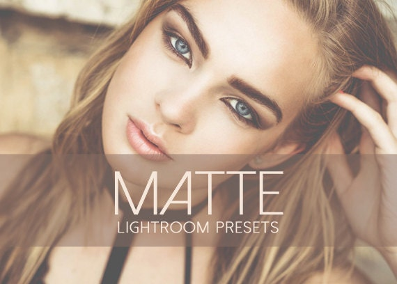 77 Matte Lightroom Presets INSTANT DOWNLOAD for  Wedding,Portrait,Nature,Fashion,Art,Holiday (Presets for Lightroom 4,5,6,CC)