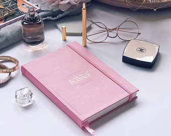 CEO of My Own Life® Planner | Undated Weekly Agenda | Diary | Planner | Rose
