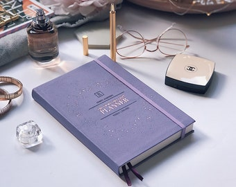 CEO of My Own Life® Planner | Undated Weekly Agenda | Diary | Planner | Violet