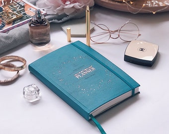 CEO of My Own Life® Planner | Undated Weekly Agenda | Diary | Planner | Maxi Teal